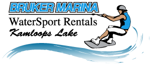 Bruker Marina & Watersport Rentals on Kamloops Lake